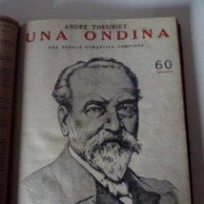 Coleccionismo de Revistas y Periódicos: 15 REVISTAS ENCUADERNADAS REVISTA LITERARIA NOVELAS Y CUENTOS. Lote 61250411