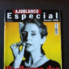 Coleccionismo de Revistas y Periódicos: REVISTA AJOBLANCO ESPECIAL VERANO 1998 - MARIHUANA DOS - PLANTA MEDICINAL. Lote 61290167