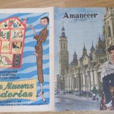 Coleccionismo de Revistas y Periódicos: PORTADA AMANECER 11 DE OCTUBRE 1956. Lote 61312627