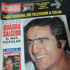 Colecionismo de Revistas e Jornais: REVISTA LA ACTUALIDAD ESPAÑOLA 2/1974 PLAZA MAYOR SALAMANCA QUADRA SALCEDO POPULARES 1973. Lote 61366907