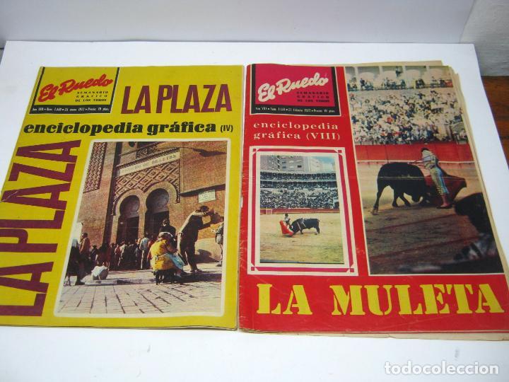 Coleccionismo de Revistas y Periódicos: lote 23 revistas tauromaquia El Ruedo - año 1972 Plazas Ferias Toreros suertes etc - Foto 7 - 61504891