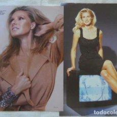 Coleccionismo de Revistas y Periódicos: LOTE DE RECORTES ANNE IGARTIBURU FOTOS REPORTAJES ARTICULOS. Lote 61589776
