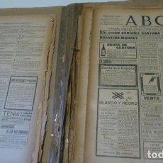Coleccionismo de Revistas y Periódicos: LOTE.MAS DE 40 PERIODICOS ABC AÑO 1906. Lote 61615688
