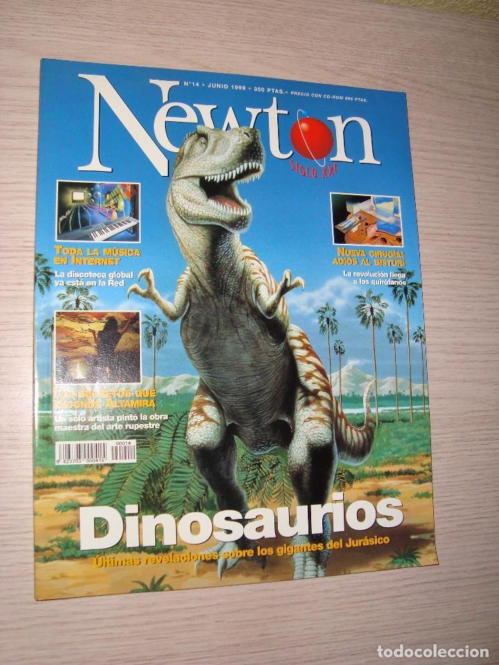 REVISTA NEWTON Nº 14 JUNIO 1999 DINOSAURIOS ALTAMIRA (Coleccionismo - Revistas y Periódicos Modernos (a partir de 1.940) - Otros)