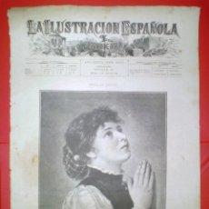 Coleccionismo de Revistas y Periódicos: GRABADO - EN ORACION - LA ILUSTRACION ESPAÑOLA Y AMERICANA.. Lote 61703596