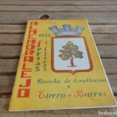 Coleccionismo de Revistas y Periódicos: REVISTA OFICIAL DE FERIA Y FIESTAS DE ALMENDRALEJO BADAJOZ AÑO 1953. Lote 70273777