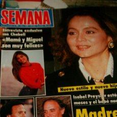 Coleccionismo de Revistas y Periódicos: ISABEL PREYSLER LADY DI PALOMA SAN BASILIO KIRK CAMERON 1988. Lote 61971128