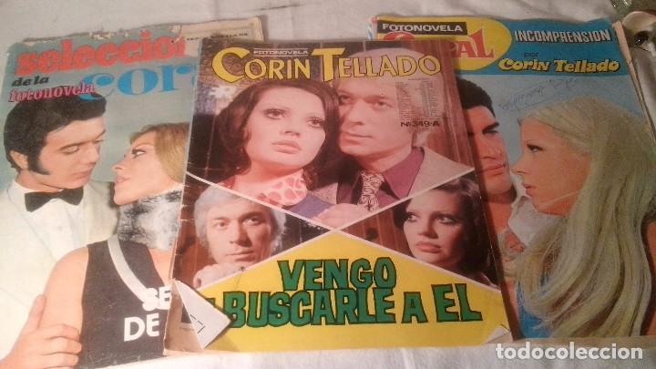 Coleccionismo de Revistas y Periódicos: 3 ANTIGUAS REVISTAS FOTONOVELAS CORIN TELLADO Y CORAL - Foto 2 - 62014376