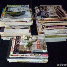 Coleccionismo de Revistas y Periódicos: LOTE DE MAS DE 100 REVISTAS VARIADAS DE DECORACIÓN. VER LISTADO. AÑOS 1980-2010. Lote 62022312