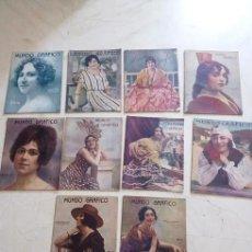 Coleccionismo de Revistas y Periódicos: LOTE REVISTAS MUNDO GRÁFICO AÑO 1920. Lote 62096692