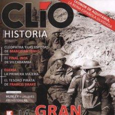 Coleccionismo de Revistas y Periódicos: CLIO HISTORIA N. 179 - EN PORTADA: LA GRAN GUERRA (NUEVA). Lote 104286694