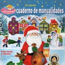 Coleccionismo de Revistas y Periódicos: CUADERNO DE MANUALIDADES N. 7 - PASATIEMPO DE JUEGOS & MANUALIDADES PARA LA EPOCA PRENAVIDEÑA(NUEVA). Lote 62150032