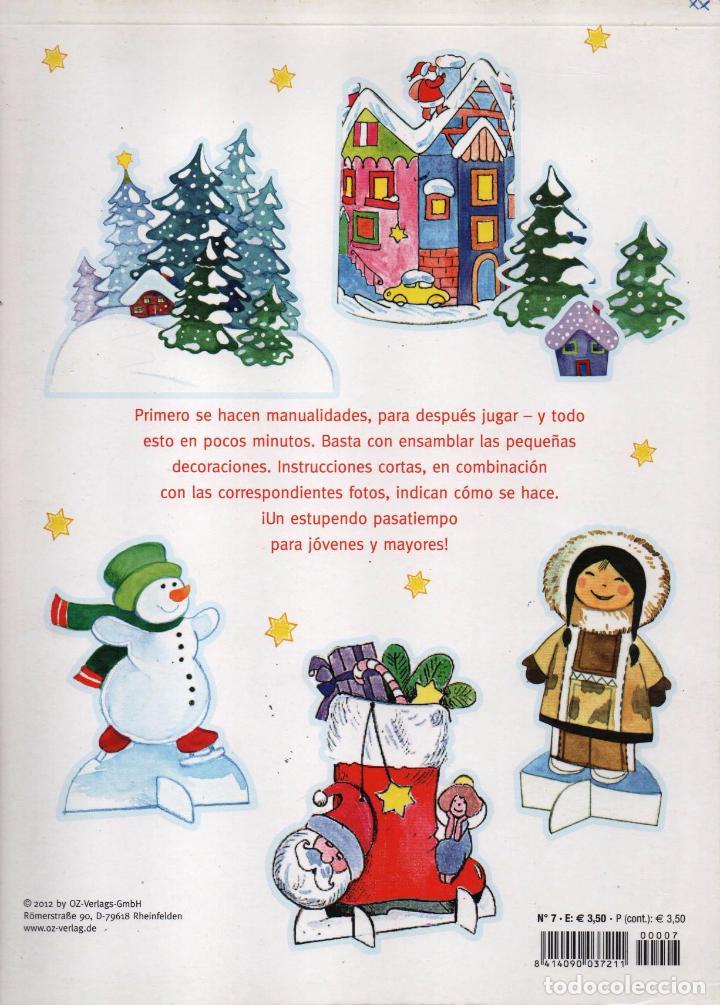 Coleccionismo de Revistas y Periódicos: CUADERNO DE MANUALIDADES N. 7 - PASATIEMPO DE JUEGOS & MANUALIDADES PARA LA EPOCA PRENAVIDEÑA(NUEVA) - Foto 2 - 62150032