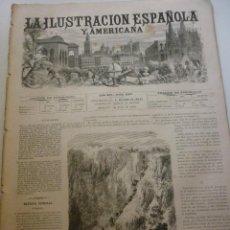Coleccionismo de Revistas y Periódicos: LA ILUSTRACIÓN ESPAÑOLA Y AMERICANA. AÑO 1872. NÚMERO XXV. Lote 62171556