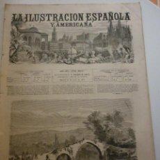 Coleccionismo de Revistas y Periódicos: LA ILUSTRACIÓN ESPAÑOLA Y AMERICANA. AÑO 1872. NÚMERO XXVII. Lote 62171780