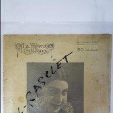Coleccionismo de Revistas y Periódicos: ANTIGA REVISTA CATALANA - LA ESCENA CATALANA - BIBLIOTECA TEATRAL - DE L ANY 1927 -. Lote 62191304