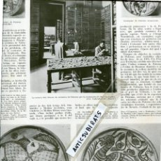 Coleccionismo de Revistas y Periódicos: REVISTA AÑ 1926 RECONSTRUCCION DE LA CERAMICA DE PATERNA EN BARCELONA RESTAURACION FONT PROU GANDIA. Lote 62278592