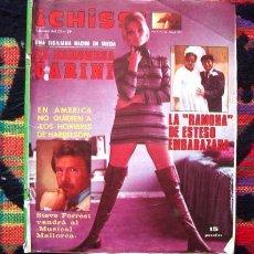 Coleccionismo de Revistas y Periódicos: CHISS / HOMBRES DE HARRELSON, EUROVISION, JANET AGREEN, ESTESO, EL GRAN MUSICAL, MISS TENERIFE. Lote 62446128