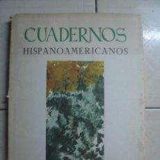 Coleccionismo de Revistas y Periódicos: CUADERNOS HISPANOAMERICANOS NÚMERO 370 ABRIL 1981. DEDICADO A RAFAEL LAPESA. Lote 62450924