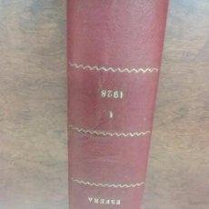 Coleccionismo de Revistas y Periódicos: TOMO I LA ESFERA AÑO 1928.24 NÚMEROS DEL 732 AL 756 + NÚMERO EXTRAORDINARIO 1928. Lote 62461120