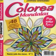 Coleccionismo de Revistas y Periódicos: COLOREA MANDALAS N. 5 - 48 MANDALAS PARA COLOREAR Y RELAJARTE (NUEVA). Lote 62531948