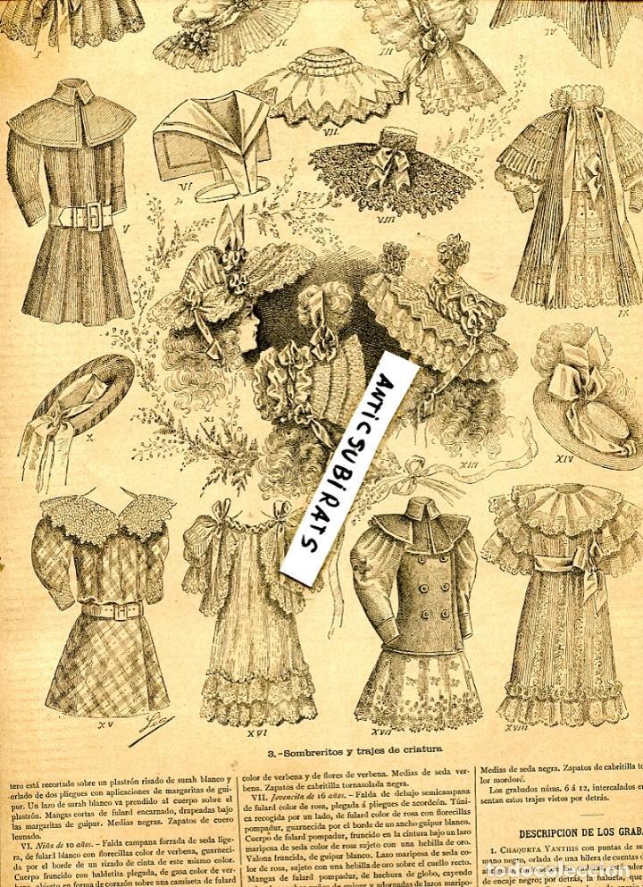 moda infantil siglo xix