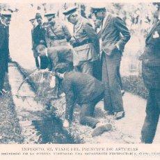 Coleccionismo de Revistas y Periódicos: * INFIESTO * VISITA DEL PRÍNCIPE DE ASTURIAS A UNA PISCIFACTORÍA -1925. Lote 62787132