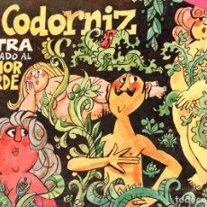 Coleccionismo de Revistas y Periódicos: LA CODORNIZ Nº 1432 EXTRA HUMOR VERDE (1969). Lote 209402722