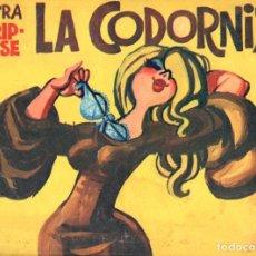 Coleccionismo de Revistas y Periódicos: LA CODORNIZ Nº 1561 EXTRA STRIP TEASE (1971). Lote 62800420
