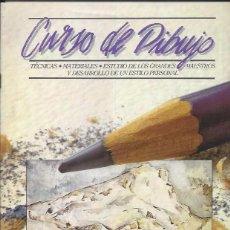 Coleccionismo de Revistas y Periódicos: CURSO DE DIBUJO Nº3 ORBIS -TECNICAS, MATERIALES. Lote 62802700