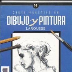 Coleccionismo de Revistas y Periódicos: CURSO PRÁCTICO DE DIBUJO Y PINTURA- LAROUSSE Nº 14. Lote 62803824