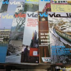 Coleccionismo de Revistas y Periódicos: REVISTA FERROCARRIL VIA LIBRE AÑO 1983 . Lote 62811220