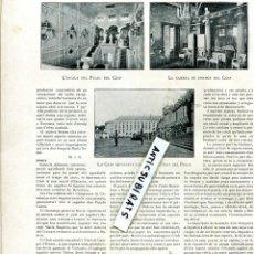 Coleccionismo de Revistas y Periódicos: REVISTA AÑO 1905 PARTIDO DE FUTBOL ENTRE EL RCD ESPAÑOL Y EL F.C. BARCELONA CLUB BARÇA. Lote 62883040