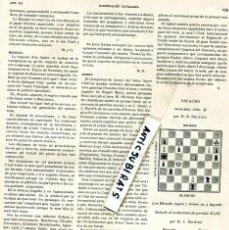 Coleccionismo de Revistas y Periódicos: REVISTA AÑO 1905 CRONICA DEL PARTIDO DE FUTBOL F. C. CLUB BARCELONA BARÇA ESPAÑOL INTERNACIONAL RCD. Lote 62887940