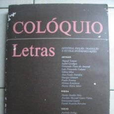 Coleccionismo de Revistas y Periódicos: COLÓQUIO LETRAS. NÚMERO 120 ABRIL JUNIO DE 1991. REVISTA EN LENGUA PORTUGUESA. Lote 62923808