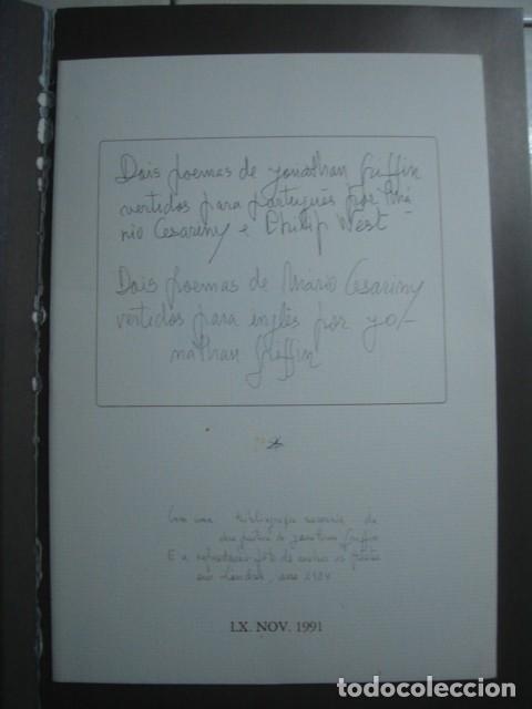 Coleccionismo de Revistas y Periódicos: Colóquio Letras. Número 120 Abril junio de 1991. Revista en lengua portuguesa - Foto 3 - 62923808