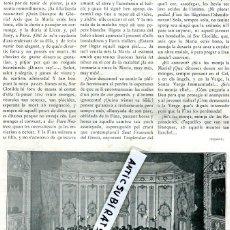 Coleccionismo de Revistas y Periódicos: REVISTA ANY 1905 ORFEO DE SABADELL COCHE BORCHER RUEDAS SIN NEUMATICOS FUTBOL CLUB BARCELONA. Lote 62933840