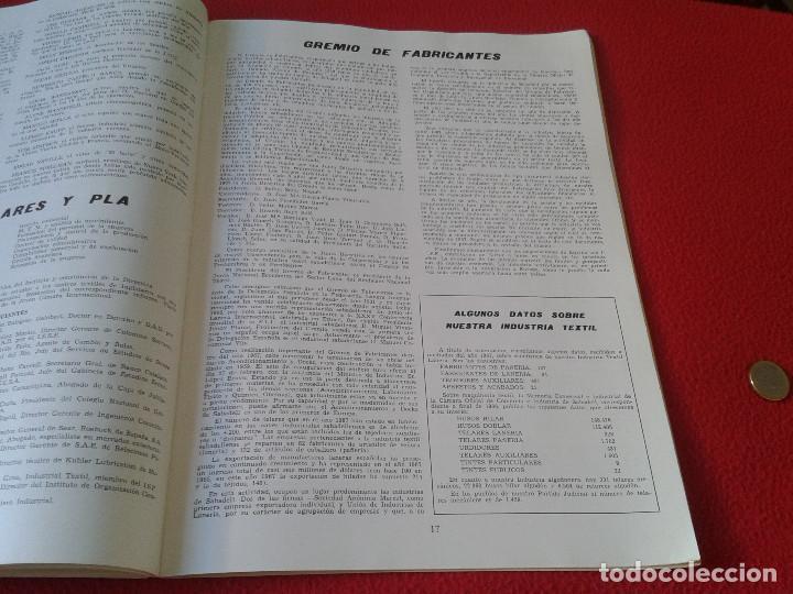 Coleccionismo de Revistas y Periódicos: INTERESANTE Y ESCASO LIBRO GUIA SABADELL 1967 ASPECTOS DE LA VIDA SABADELLENSE. FRANCO. IDEAL COLECC - Foto 5 - 63120328