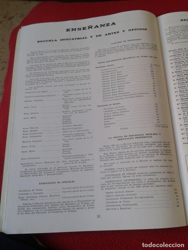 Coleccionismo de Revistas y Periódicos: INTERESANTE Y ESCASO LIBRO GUIA SABADELL 1967 ASPECTOS DE LA VIDA SABADELLENSE. FRANCO. IDEAL COLECC - Foto 6 - 63120328