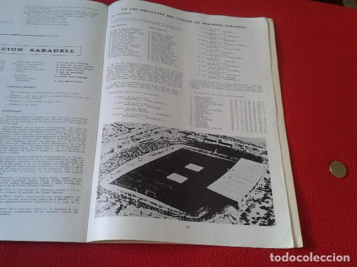 Coleccionismo de Revistas y Periódicos: INTERESANTE Y ESCASO LIBRO GUIA SABADELL 1967 ASPECTOS DE LA VIDA SABADELLENSE. FRANCO. IDEAL COLECC - Foto 8 - 63120328