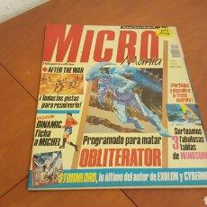 Coleccionismo de Revistas y Periódicos: MICROMANIA 14 SEGUNDA EDICION EXCELENTE. Lote 63159859