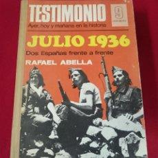 Coleccionismo de Revistas y Periódicos: LIBRO DE LOS 12 PRIMEROS NÚMEROS DE LA REVISTA TESTIMONIO ENCUADERNADOS. Lote 63172200
