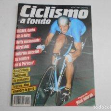 Coleccionismo de Revistas y Periódicos: REVISTA CICLISMO A FONDO Nº 14 AÑO 1986 TIENE POSTER CENTRAL DE MIKEL INDURAIN. Lote 63248264