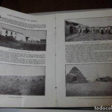 Coleccionismo de Revistas y Periódicos: LOS CAMPESINOS DE JEREZ. 2 HOJAS DE REVISTA BLANCO Y NEGRO 1902. Lote 63266812