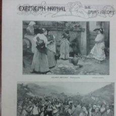 Coleccionismo de Revistas y Periódicos: EXPOSICION NACIONAL DE BELLAS ARTES AÑO 1903 REVISTA.. Lote 63273844