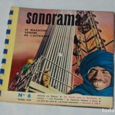 Coleccionismo de Revistas y Periódicos: REVISTA SONORAMA - SONORAMA Nº 6 - REVISTA FRANCESA CON DISCOS - MUY ANTIGUA. Lote 63342112