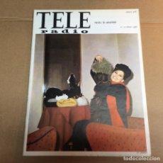 Coleccionismo de Revistas y Periódicos: ( TELERADIO ) REVISTA TELERADIO Nº 426 AÑO 1966 CLAUDIA CARDINALE HABITUAL ROSTRO DE LA RAI. Lote 63368964