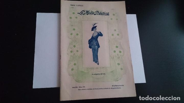 LA MODA PRÁCTICA FÉMINA ILUSTRADA AÑO VII NUM 324 - 11 DE MARZO DE 1914 MADRID (Coleccionismo - Revistas y Periódicos Antiguos (hasta 1.939))