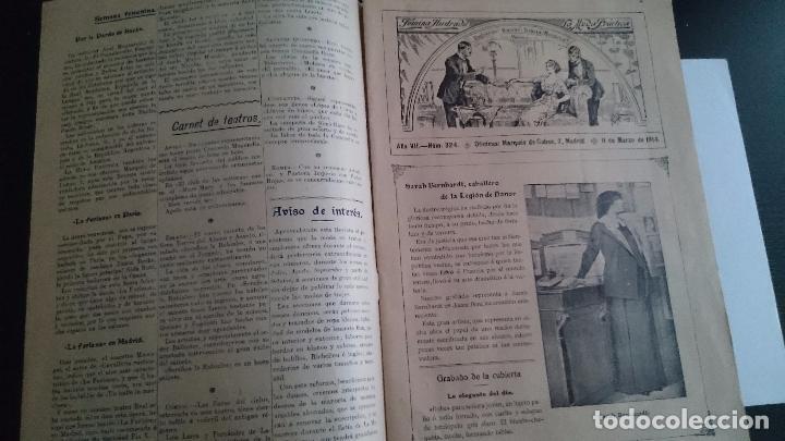 Coleccionismo de Revistas y Periódicos: LA MODA PRÁCTICA FÉMINA ILUSTRADA AÑO VII NUM 324 - 11 DE MARZO DE 1914 MADRID - Foto 2 - 63398964