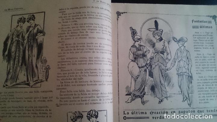 Coleccionismo de Revistas y Periódicos: LA MODA PRÁCTICA FÉMINA ILUSTRADA AÑO VII NUM 324 - 11 DE MARZO DE 1914 MADRID - Foto 4 - 63398964